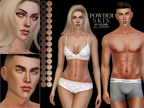 PS Powder Skin by Pralinesims