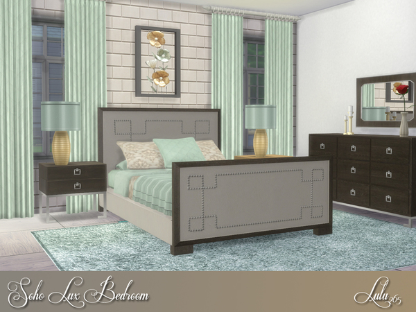 Soho Lux Bedroom by Lulu265