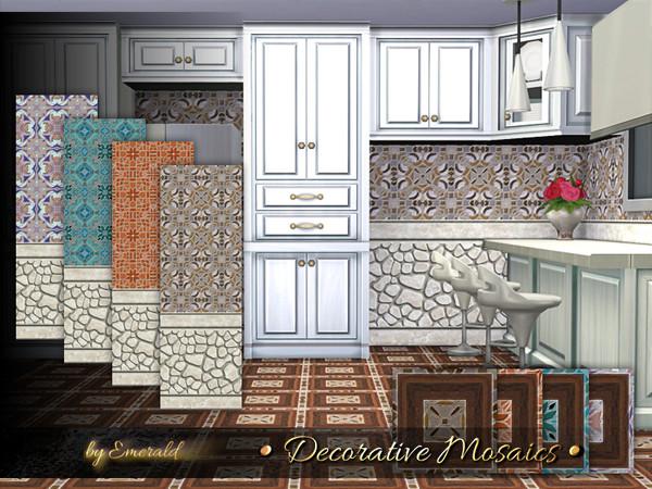 Decorative Mosaics by emerald