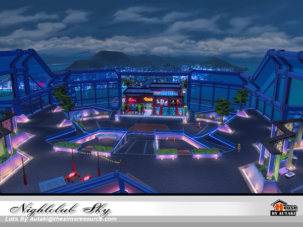 Nightclub Sky by autaki