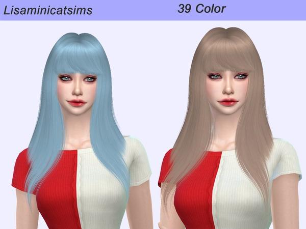 Lisaminicatsims LeahLillith Monster Hair Retexture by Lisaminicatsims