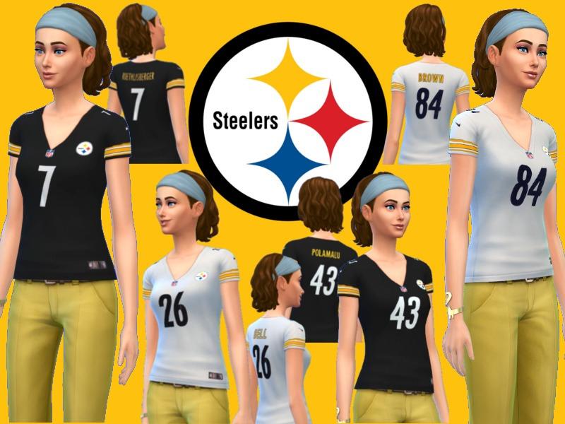 free shipping 49530 cfc4c RJG811's Ladies replica Pittsburgh Steelers jerseys