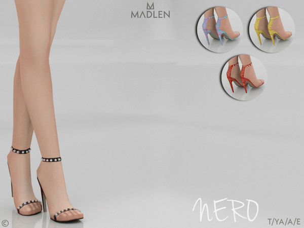 Madlen Nero Shoes by MJ95