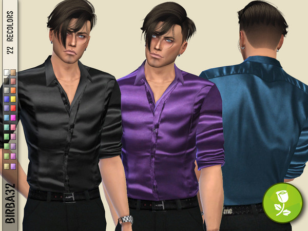 Silk shirt for man by Birba32