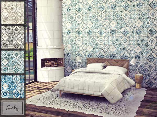 Worn Tiles by Sooky