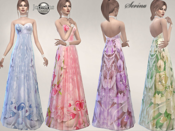 sevina dress by jomsims
