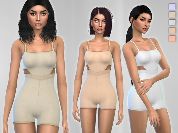Form-Fitting Romper by Puresim