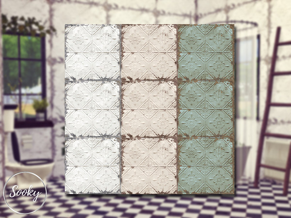 Worn Tiles #2 by Sooky