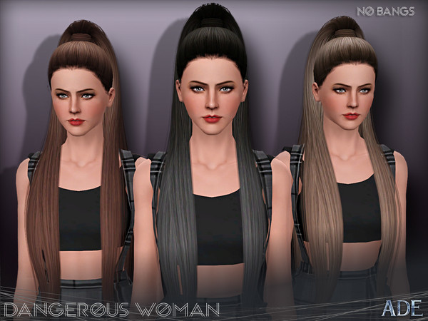 Ade - Dangerous Woman (Without Bangs) by Ade_Darma