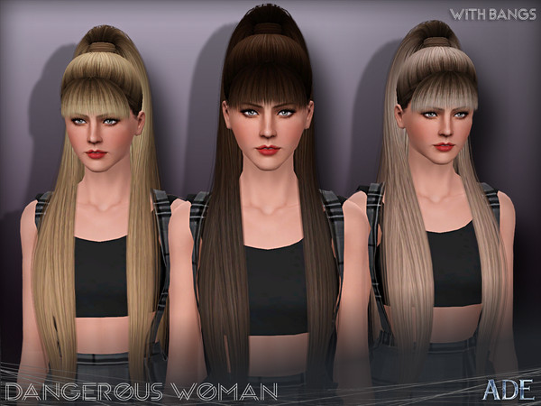 Ade - Dangerous Woman (With Bangs) by Ade_Darma
