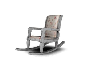 Sims 4 — Some more shabby Stuff Rockingchair by Angela — Some more shabby Stuff, rockingchair. Does not Rock, but is a