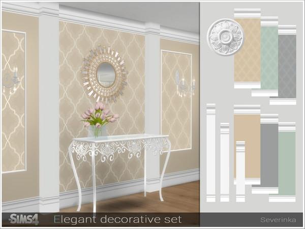 Elegant decorative set by Severinka