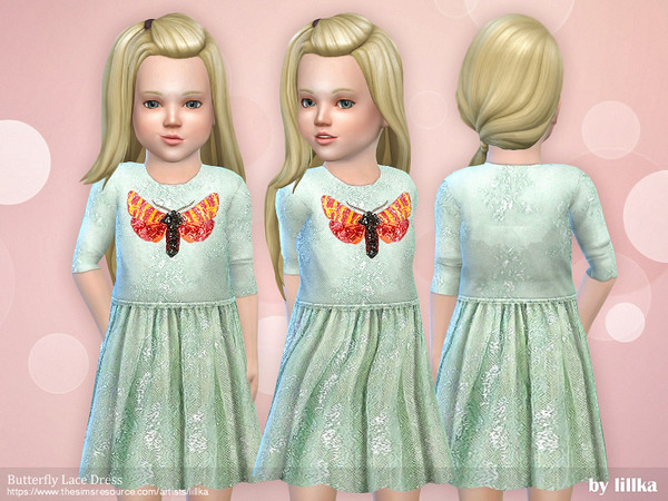 Butterfly Lace Dress by lillka
