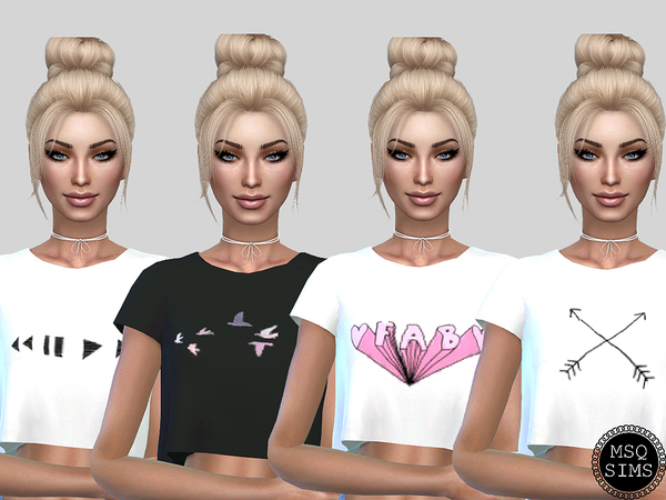 Sandy T-Shirt Collection by MSQSIMS