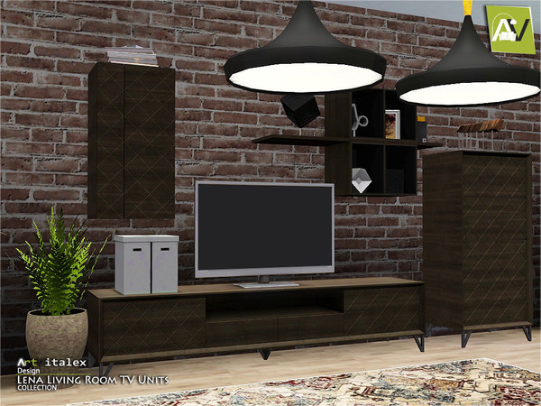 Lena Living Room TV Units by ArtVitalex