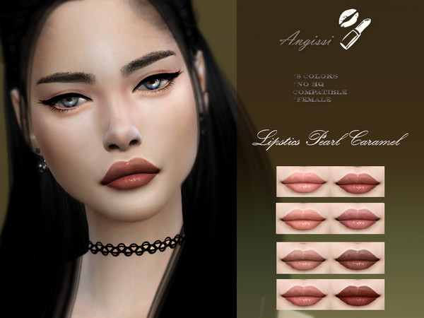 LIPSTICK Pearl Caramel by ANGISSI