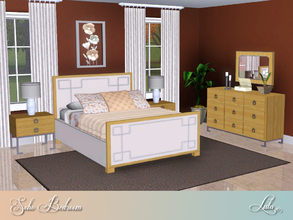 Sims 3 — Soho Lux Bedroom For Sims 3  by Lulu265 — The Soho Lux Bedroom is an elegant addition to your home. The Soho Lux