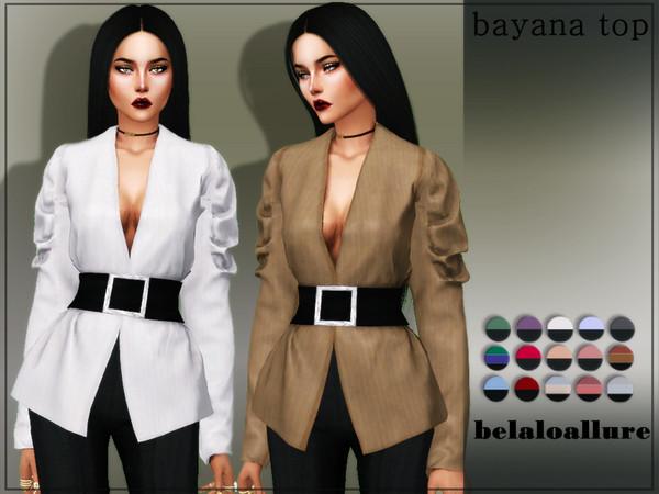 belaloallure_bayana top by belal1997