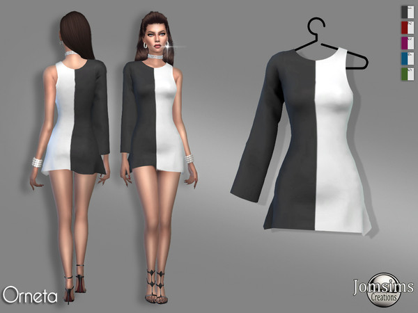 orneta dress by jomsims