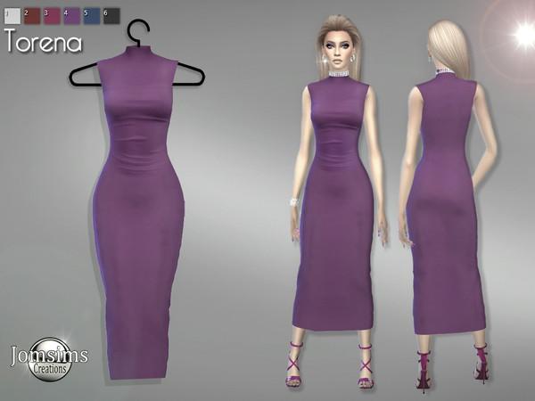 Torena dress by jomsims