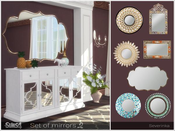 Severinka S Set Of Mirrors Ii