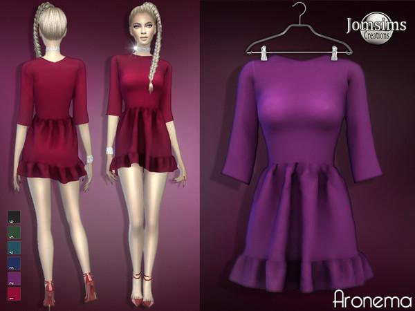 Aronema dress by jomsims