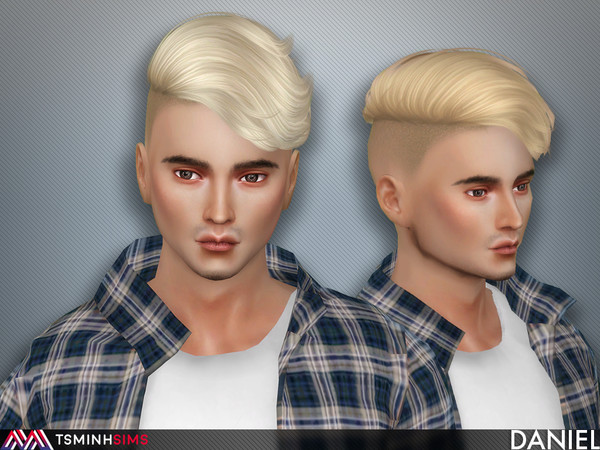 Daniel ( Hair 60 ) by TsminhSims