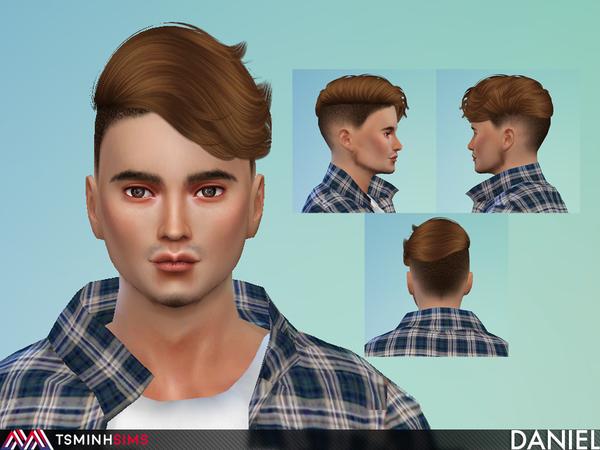 Daniel ( Hair 60 ) by TsminhSims