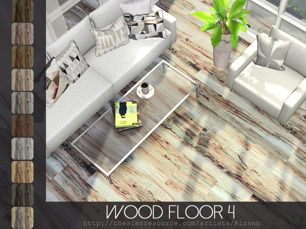 Wood Floor 4 by Rirann