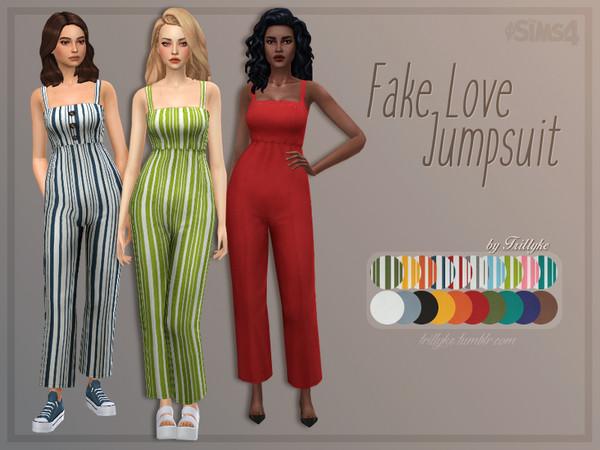 Trillyke - Fake Love Jumpsuit