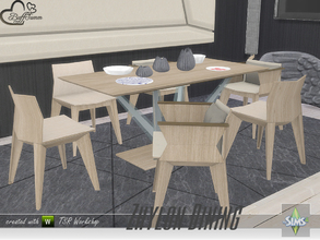 Sims 4 — Zhylon Dining Recolors by BuffSumm — Some Recolors for the Zhylon Dining Set