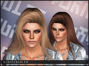 Sims 3 — Nightcrawler ORCHID by Nightcrawler_Sims — S4 conversion Teen to Elder All LODs Smooth bone assignment Hope you