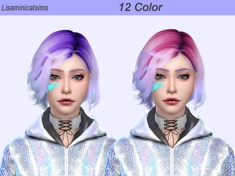 Lisaminicatsims Wings Oe0528 Ombre Hair Retexture