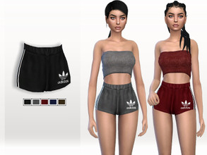 cf4acf8dd2c Sims 4 Female Clothing - 'adidas'