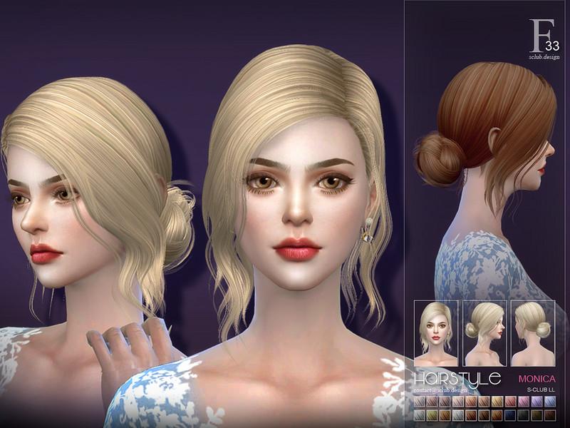 Monica Hair Styles: S-Club's Sclub Ts4 Hair Monica N33