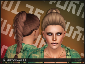 Sims 3 — Nightcrawler SUNSET by Nightcrawler_Sims — S4 conversion Teen to Elder All LODs Smooth bone assignment Hope you