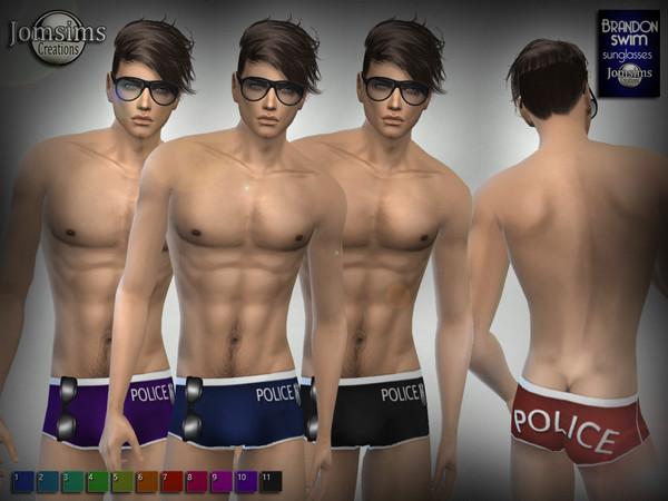 Плавки с очками от Jomsims