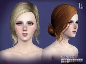 Sims 3 — S-CLUB HAIR TS3--33 by S-Club — Hi everyone! Here is my n33 hair for TS3 too! You can find the hair clipper on