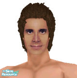 Sims 1 — Santa Barbara: Ted Capwell by frisbud — Ted Capwell, played by actor Todd McKee, from the 1980's daytime drama