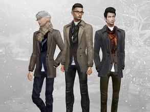 Sims 4 Male Clothing - 'coat'