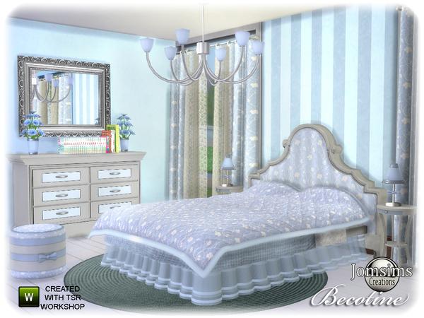 спальня для симс 4 от jomsims