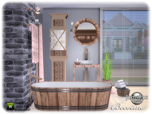 ванная симс 4