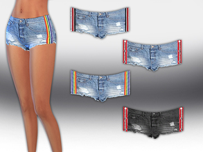 56ef9aed877 Strip Line Little Trendy Shorts