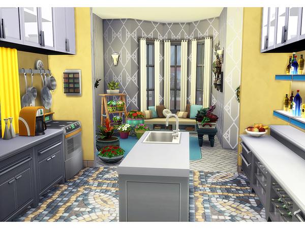 кухня симс 4