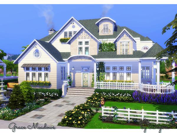 дом для симс 4