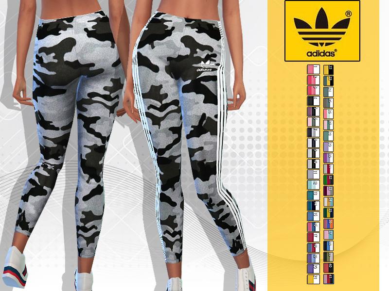 Pinkzombiecupcakes' Summer Adidas Floral Athletic Pants