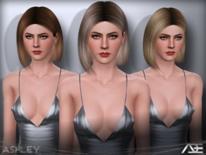 Sims 3 — Ade - Ashley by Ade_Darma — New Hair Mesh No Morph all Bones assigned All LODs