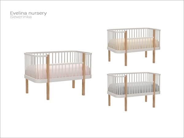 Severinka_'s [Evelina nursery] - baby decorative crib PLEASE SEE MOD LINK