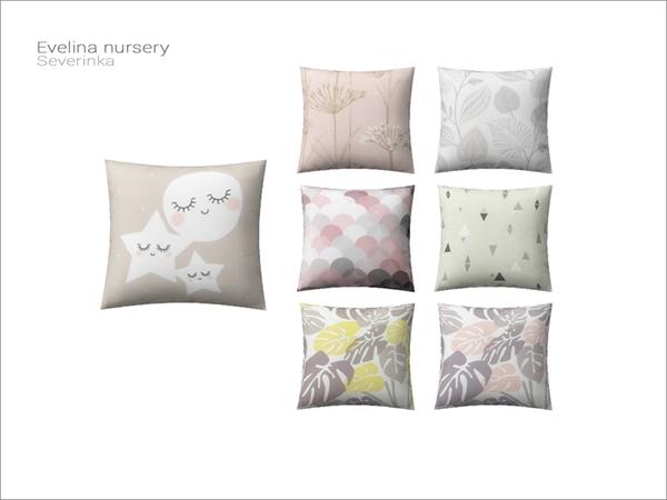 Severinka_'s [Evelina nursery] - pillow
