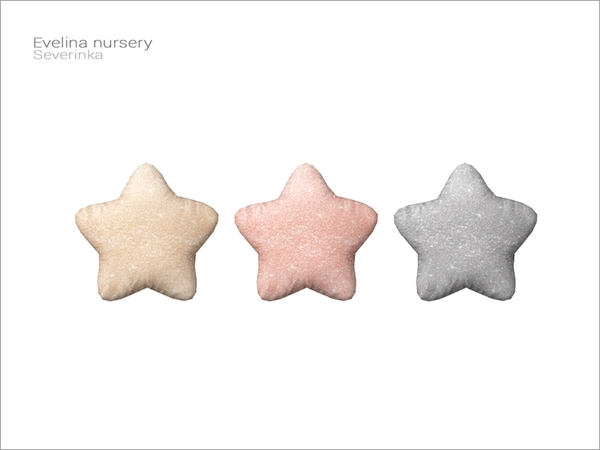 Severinka_'s [Evelina nursery] - Star pillow